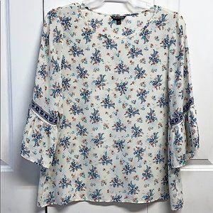 Max Edition Blouse Size XLP Floral Print